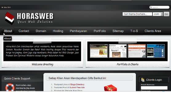 horasweb new web design