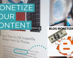 Content Blog Monetizing
